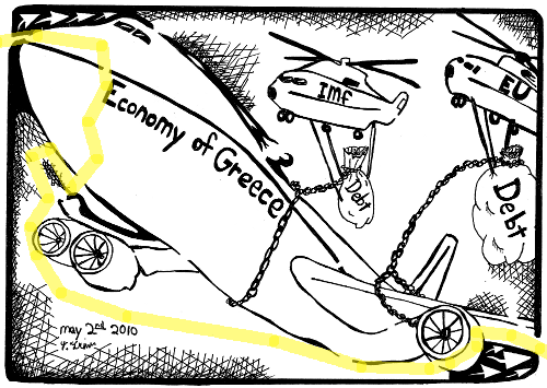 economy of greece maze cartoon maze solution