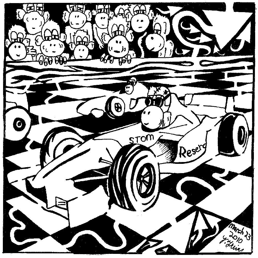 Racing Monkeys