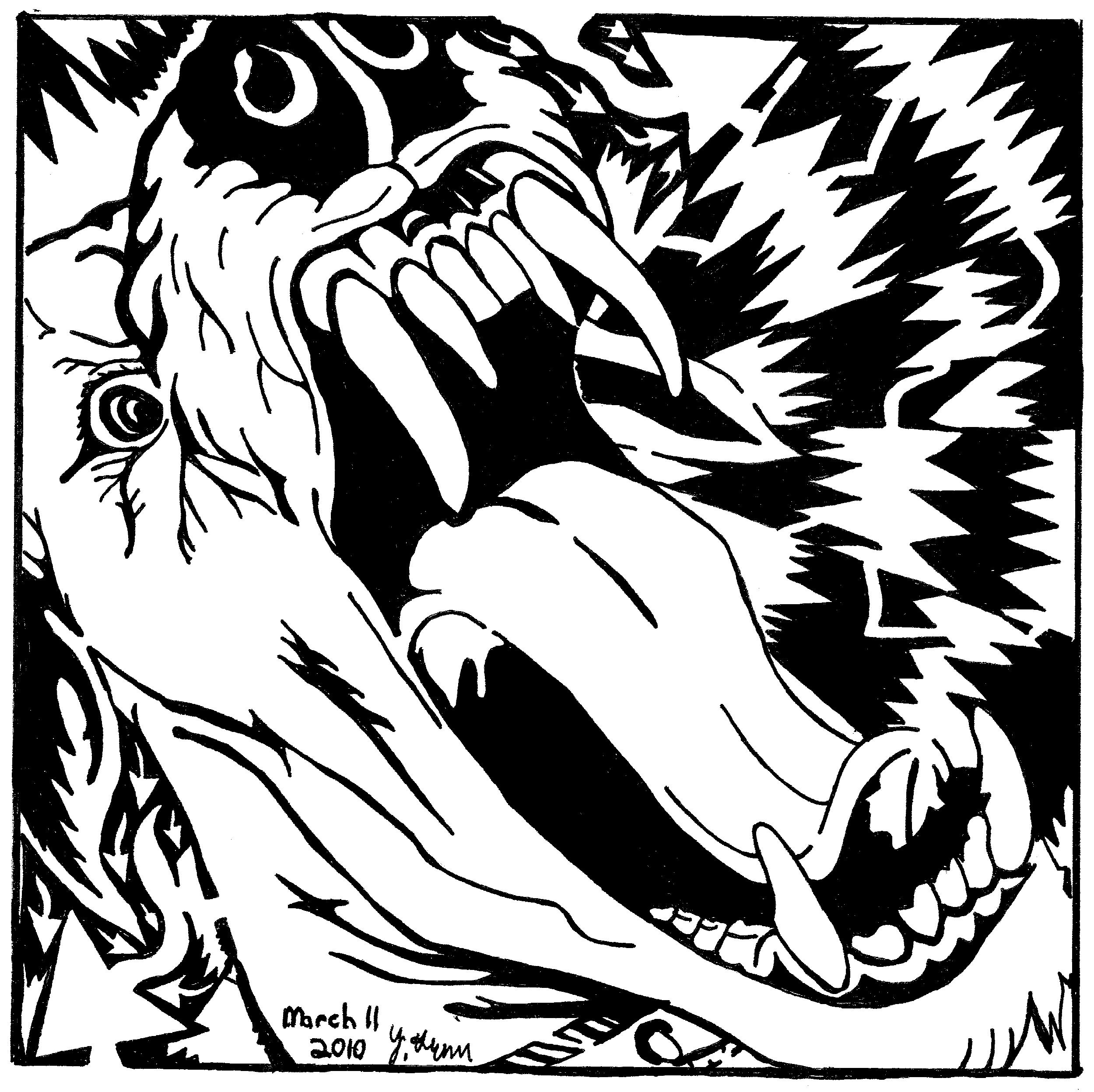 maze of a barking dog, by yonatan frimer