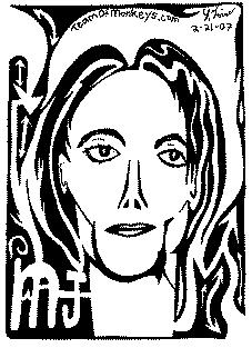 Michael Jackson Maze portrait