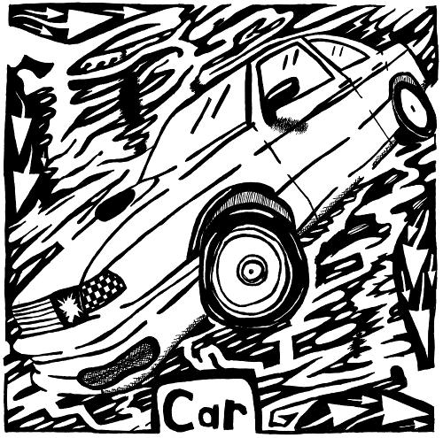 car maze by Yonatan Frimer