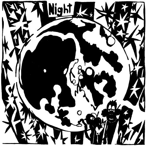 Yonatan Frimer Moon at Night Maze Art