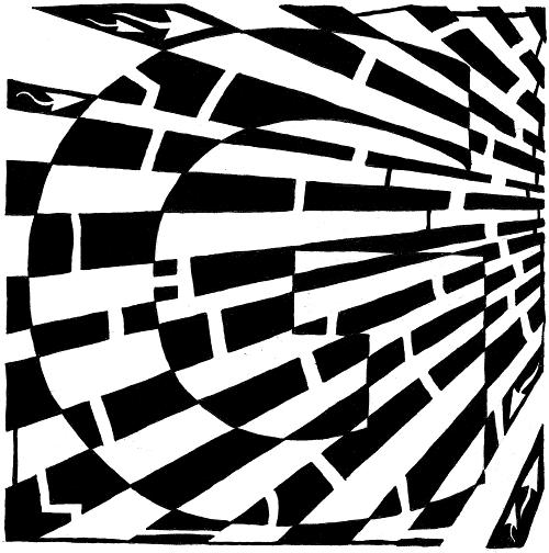Yonatan Frimer maze of Uppercase G