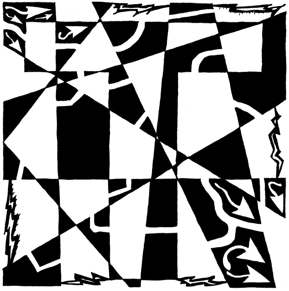 T Maze by Yonatan Frimer Maze Artist