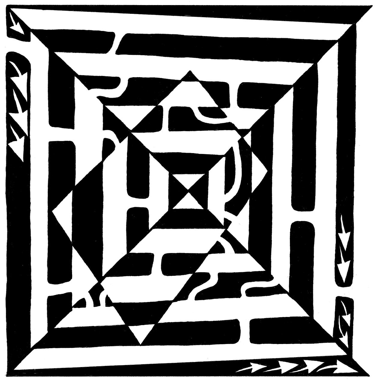 Monolith Maze by Yonatan Frimer