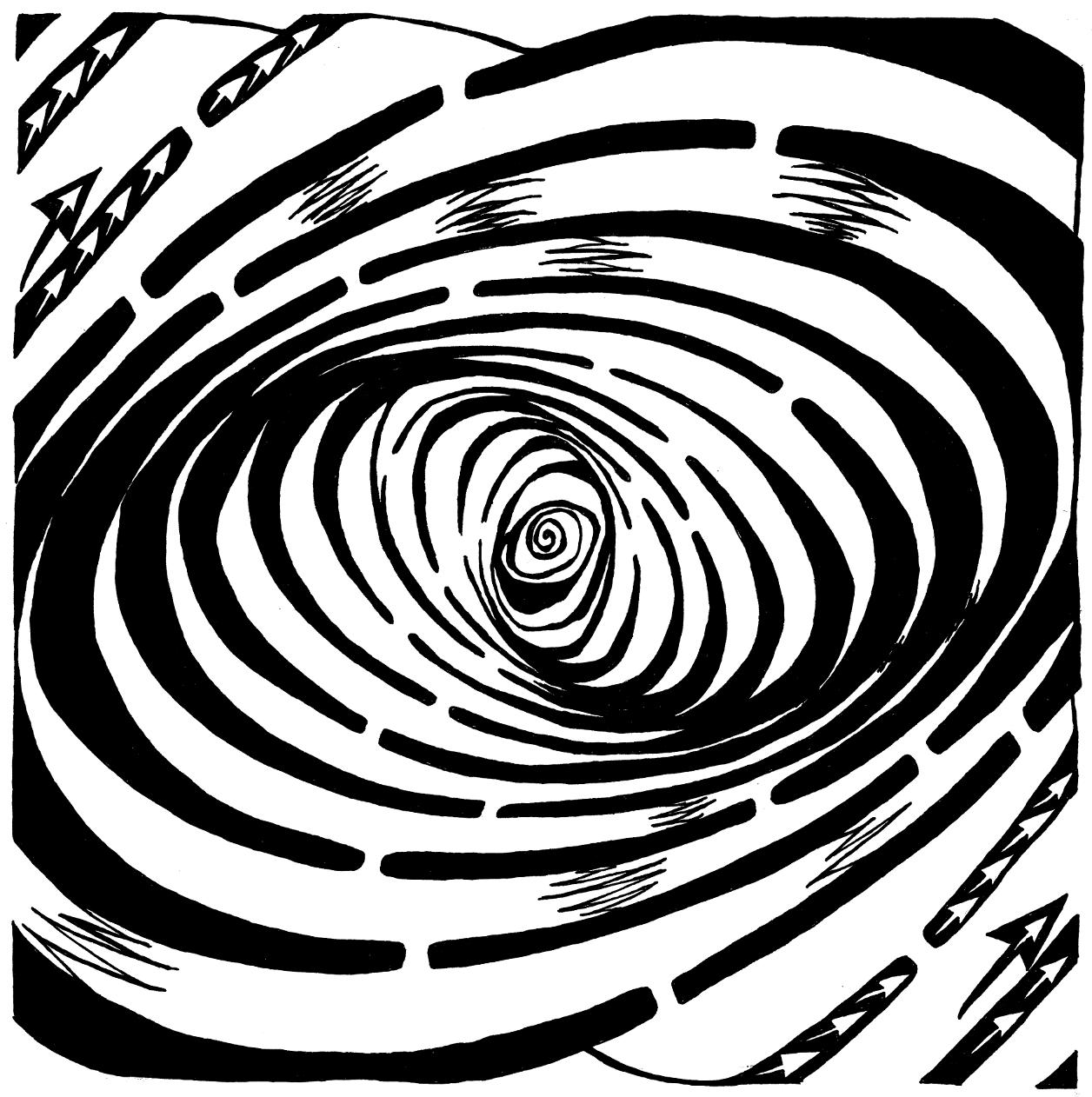 Wave Swirled Maze